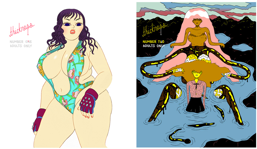 ... Michael DeForge's excellent and sexxy erotic comics anthology series.